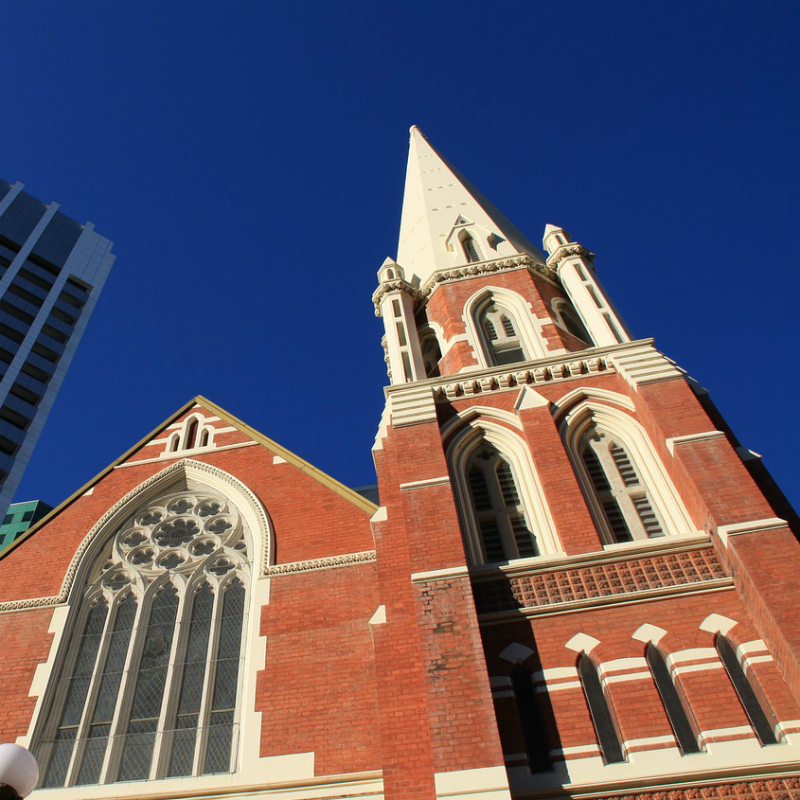 church in brisbane city
